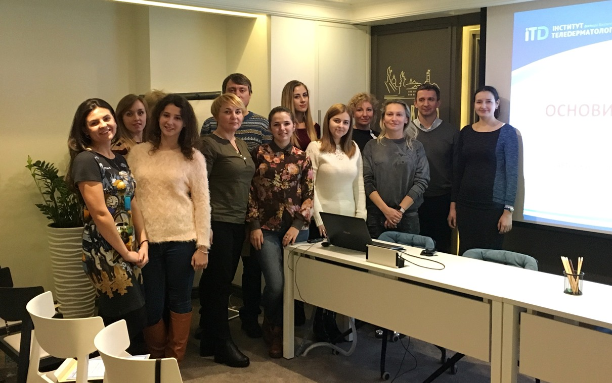 "Course ""Dermatoscopy of skin tumors"" was held in Lviv on November 24-25"
