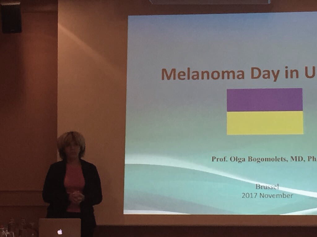Olga Bogomolets attended the annual Euromelanoma workshop in Brussels