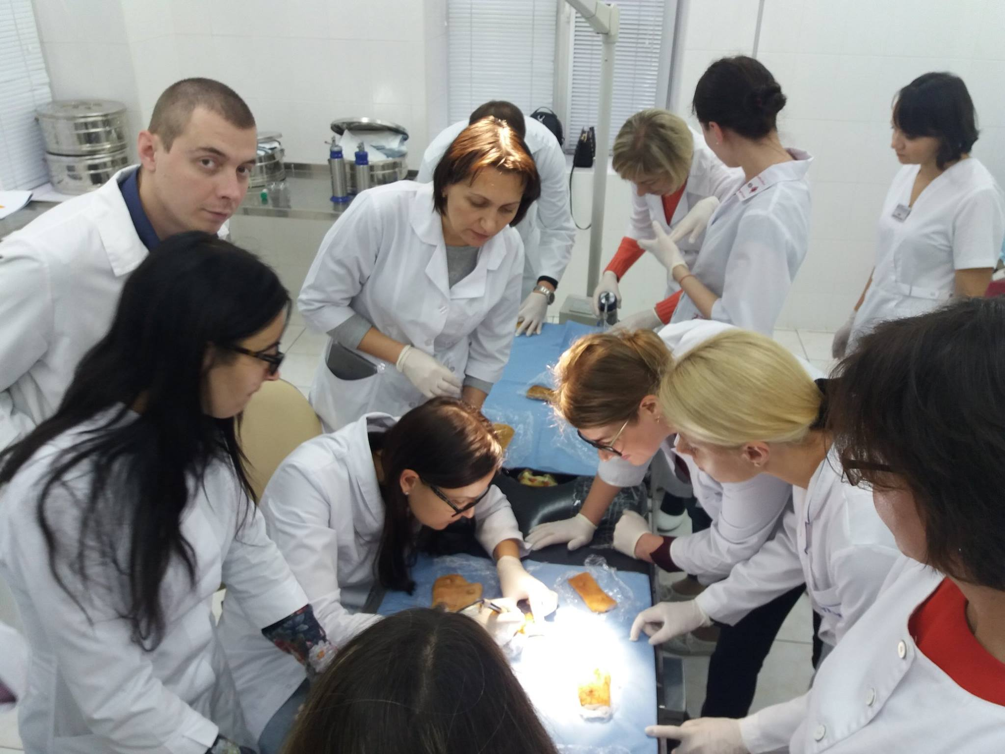 "The seventh course ""Removal of skin tumors"" took place on November 4-5"