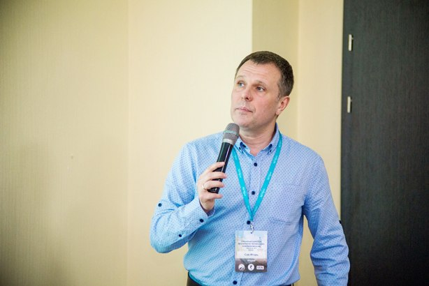 "Dr. Igor Say spoke at the conference ""Regenerative technologies in modern medicine"" in Odessa"