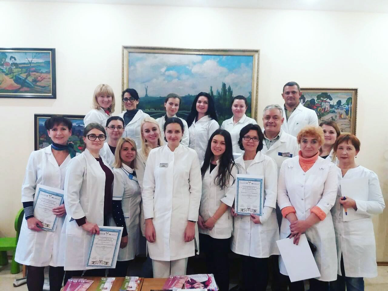 "Course ""Dermatoscopy of skin tumors"" was held on October 27-28"